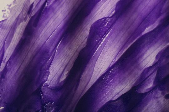 Abstract purple brush strokes