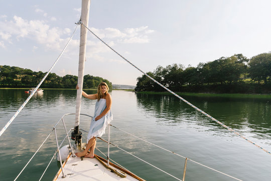 Summer Bliss on the Boat