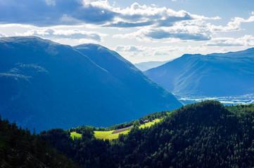 Mountain farm near Otta, Gudbrandsdalen, Norway