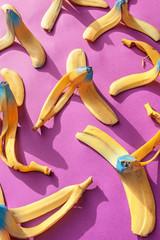 vibrant banana bark,abstract,food,fall, swing