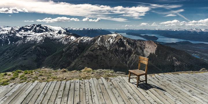Vista Infinita, Bariloche.