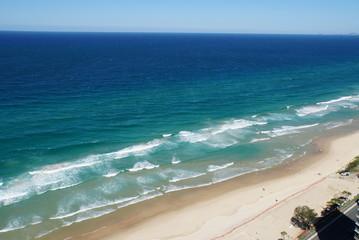 Beach of gold coast