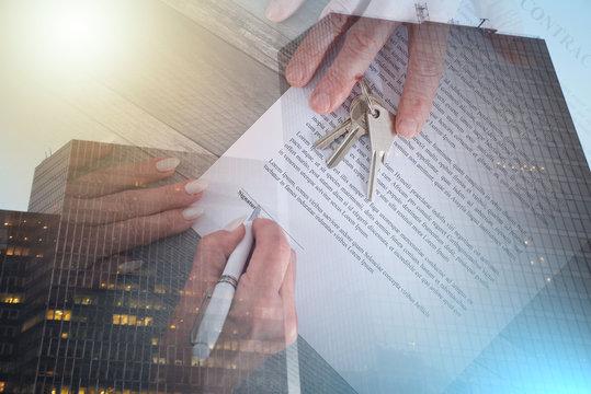 Real estate transaction; multiple exposure