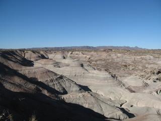 View of The Moon Valley in Ischigualasto Park, San Juan - Argentina