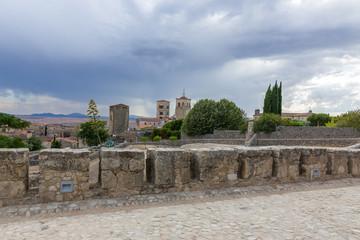 Fototapeta Średniowieczne miasto Trujillo w Hiszpanii obraz