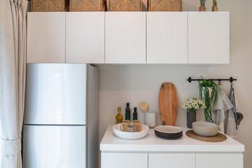 interior design of new  kitchen