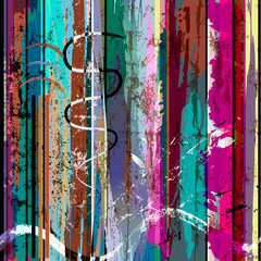 abstract background, with stripes, strokes and splashes, grungy