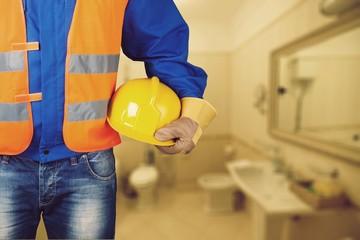 Man plumber.