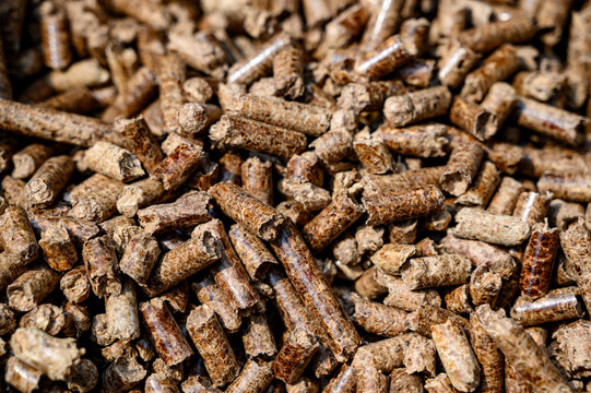 Pellets for barbecue wood smoker