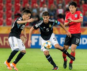 Under-20 World Cup - Group F - Korea Republic v Argentina
