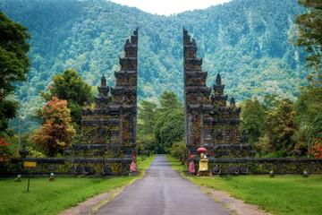 Self adhesive Wall Murals Bali Bali, Indonesia, Architectural Landmark, Temple Gates in Northern Bali