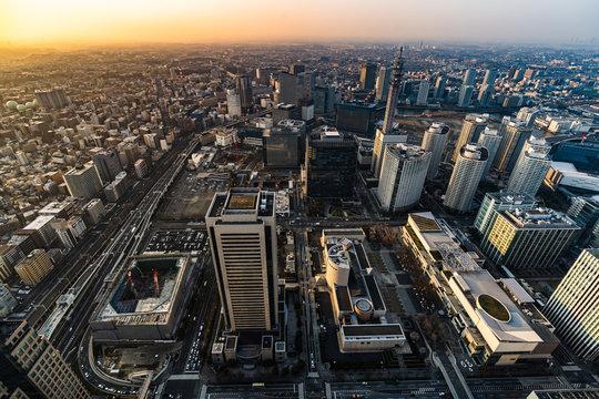 Yokohama Cityscape, Japan