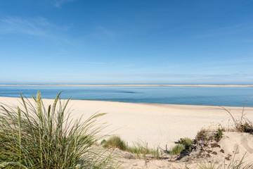 BASSIN D'ARCACHON (France), plage du Petit Nice et banc d'Arguin Fototapete