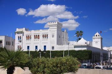 le palais national à Tunis