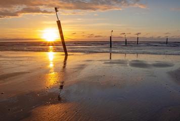 Norderney Sonnenuntergang Nordstrand