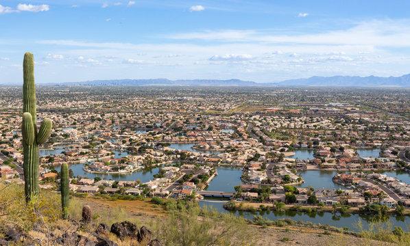 Landscape View Glendale Arizona