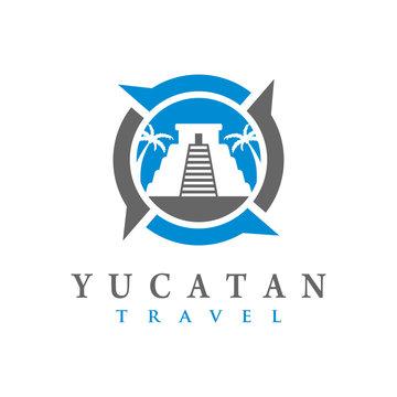 Yucatan temple logo