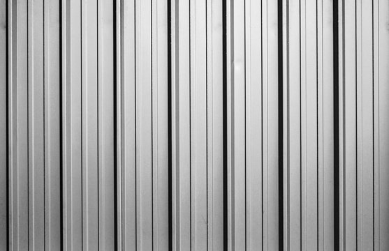 corrugated metal sheet texture background