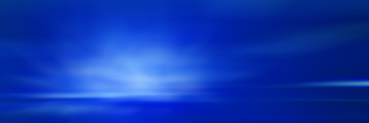 Wall Mural - Dark blue gradient background / blue radial gradient effect wallpaper