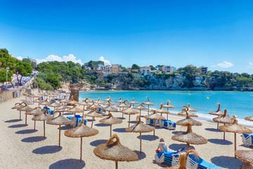 DerStrand von Porto Cristo auf Mallorca