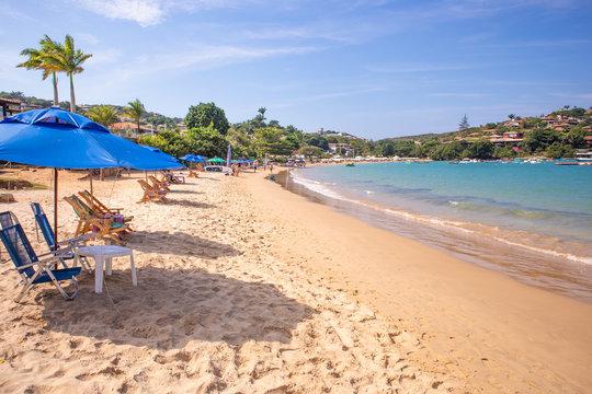 Ferradura beach in Buzios