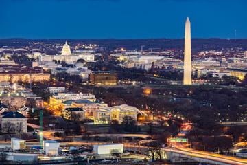 Washington DC Aerial Wall mural