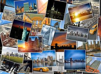 Travel photos of New York City.
