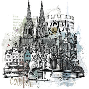 Köln Collage
