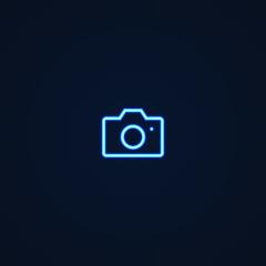 Camera | Neon Style Icon