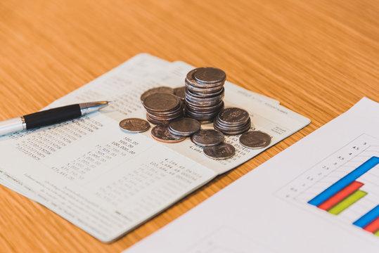 Finances Saving Banking Concept
