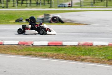 Foto op Aluminium F1 Kart