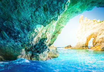 Keuken foto achterwand Liguria Beautiful lanscape of Zakinthos island