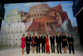 Meeting of German speaking Presidents and the Royal Couple of Belgium in Linz