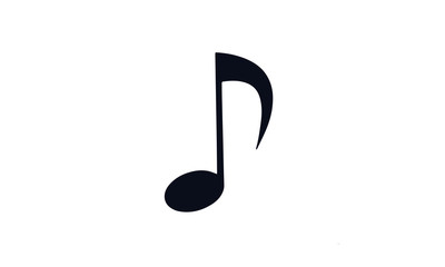 note music design vector black and white