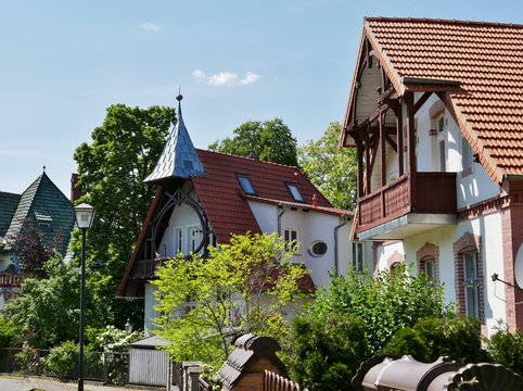 Häuser in Buckow