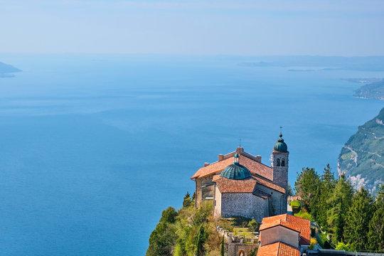 Italy, Lombardy, Lake Garda, Madonna di Montecastello