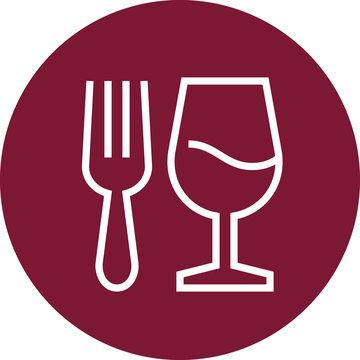 Food Drink Restaurant Outline Icon