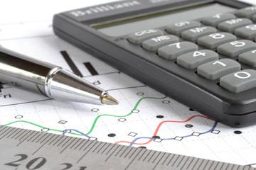 Pen, graph and calculator