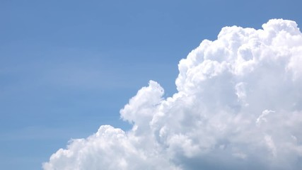Wall Mural - Cumulus Clouds Sky Time Lapse