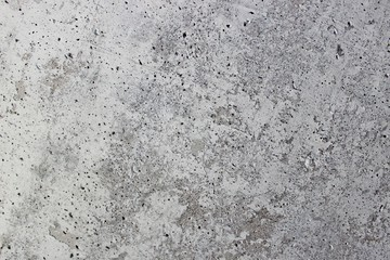 The porous structure of concrete