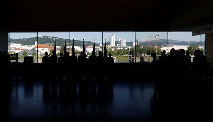 German speaking heads of state pose for photographers in Linz