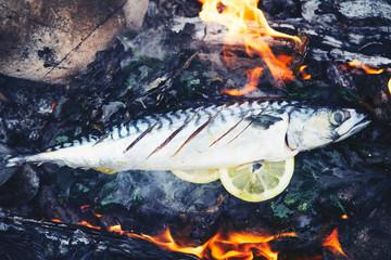 makrele im feuer