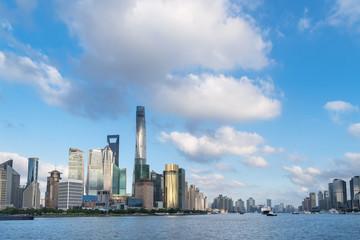 Fotobehang - modern city skyline