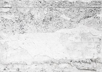 Seamless old white concrete wall