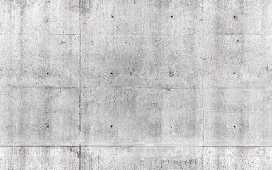Seamless texture, gray concrete wall