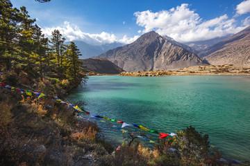 Dhumba Lake, Jomsom, Himalaya mountains of Nepal