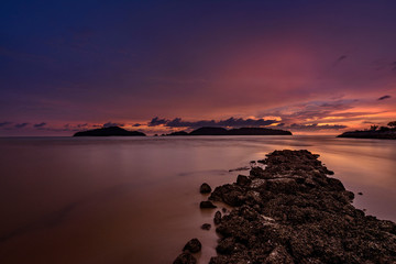 Sunset overt the ocean