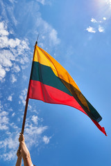 Lithuanian National Flag.