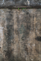 Wall Mural - Abstract dark grunge texture with scratch marks
