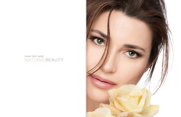 Natural beauty and bio cosmetics concept